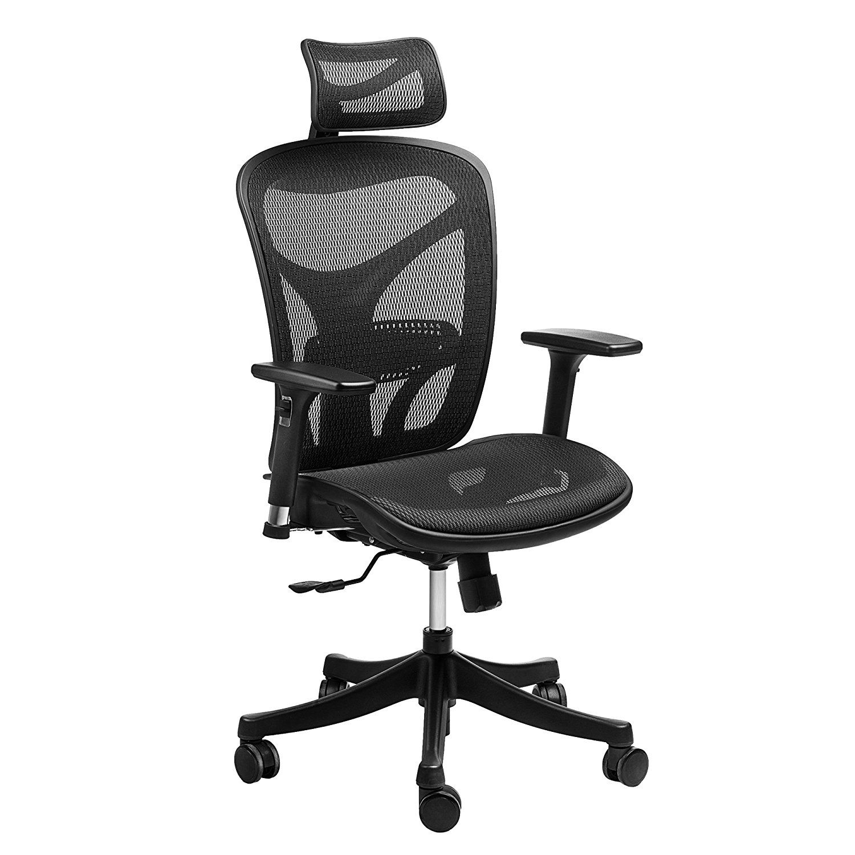 Ergonomic high back mesh office chair