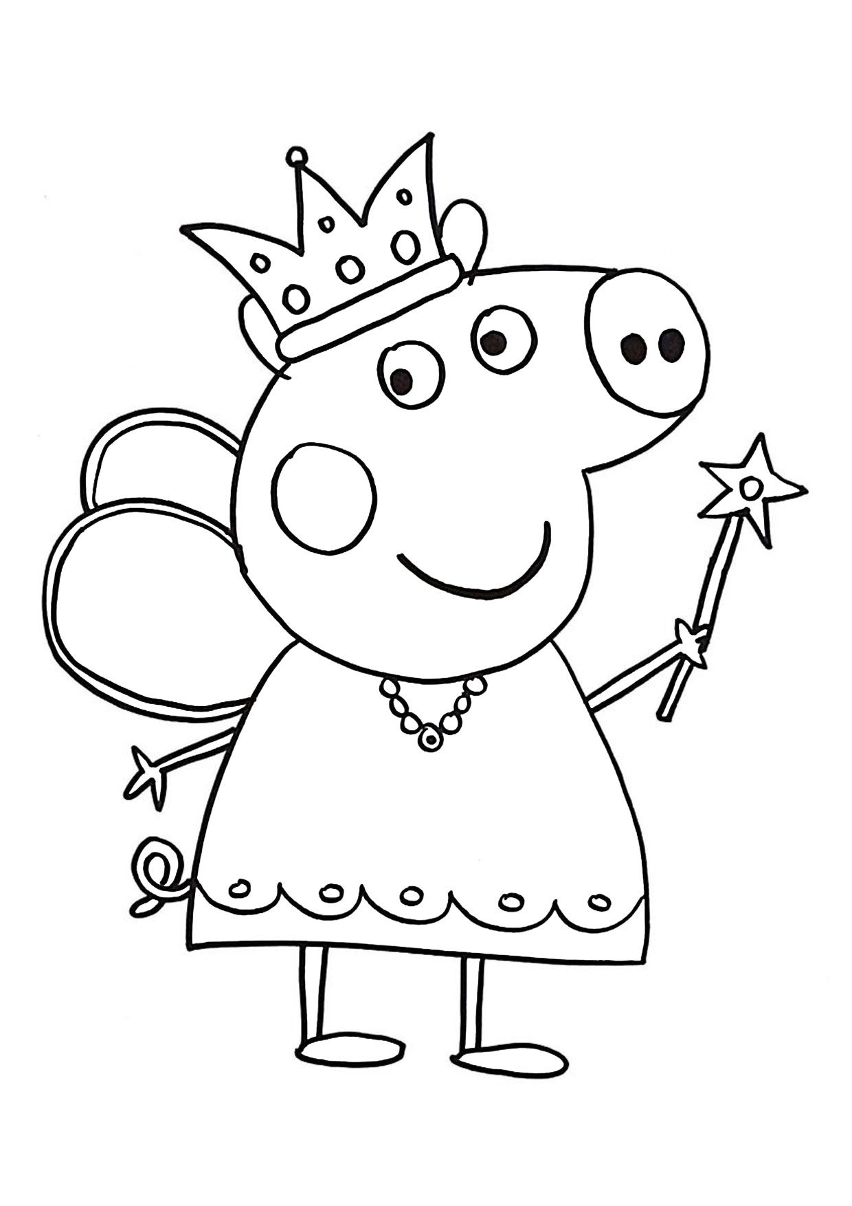 54 Disegni Di Peppa Pig Da Colorare Disegni Da Colorare Disegni Disegni Da Colorare Per Bambini