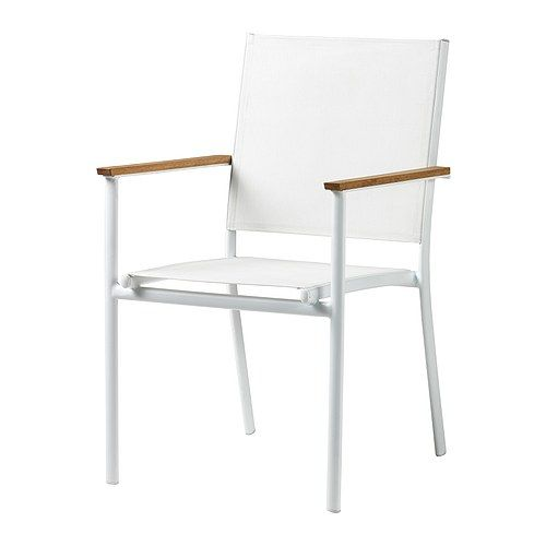 hasselÖn armchair ikea rustproof aluminum frame is both sturdy and
