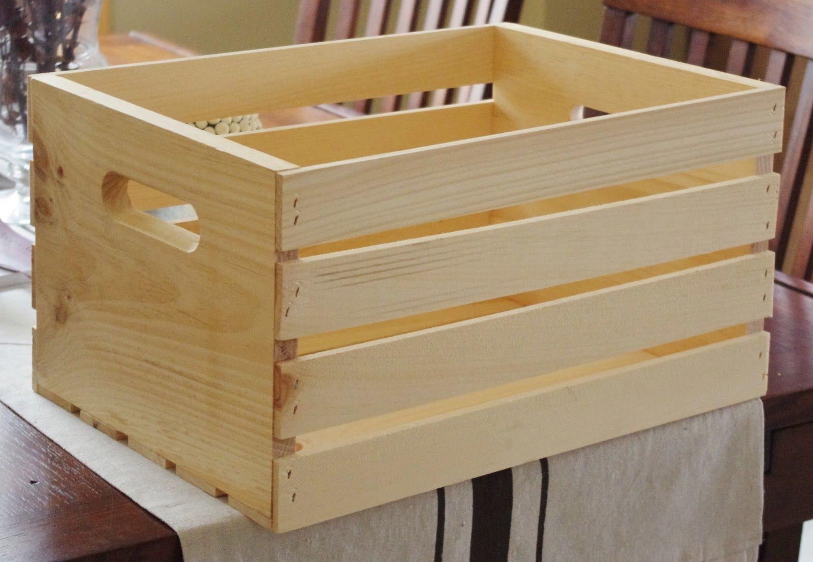 cmo hacer una caja de madera