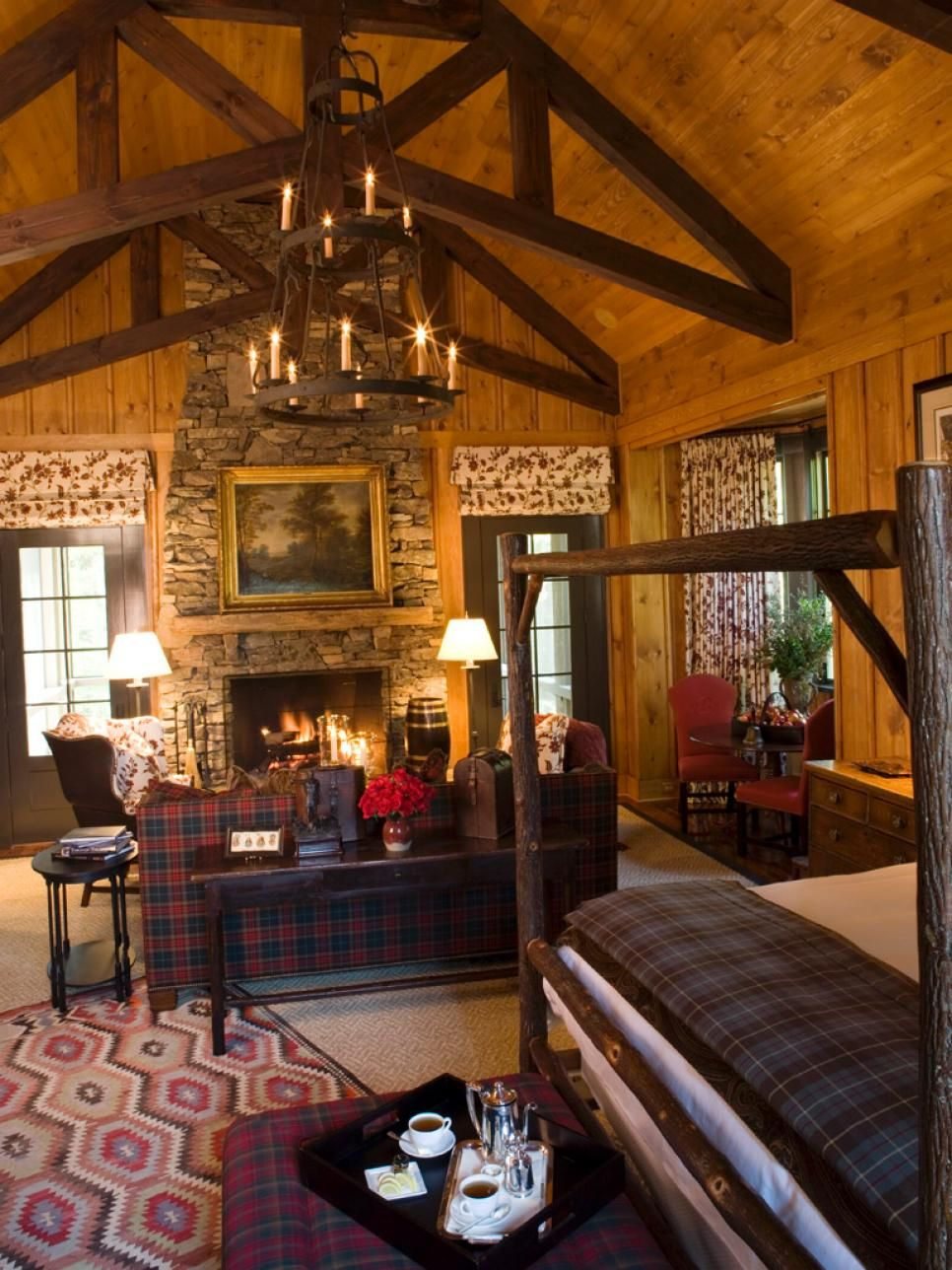 rustic retreats luxurious style pinterest lodge style aspen