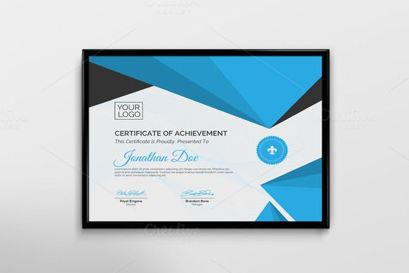 Creative Certificate Template Creativework247 Stationery Design
