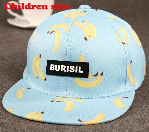69dd7eb51e7 Fashion Fruit Pattern Snapback Hat Snapback Cap Hip Hop Cap Adult Child  Different Size Fashion Hip