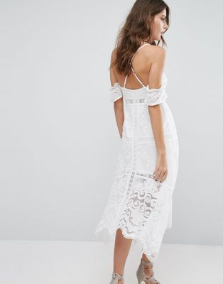 Foxiedox – Kiera – Kleid mit ausgeschnittenen Schultern