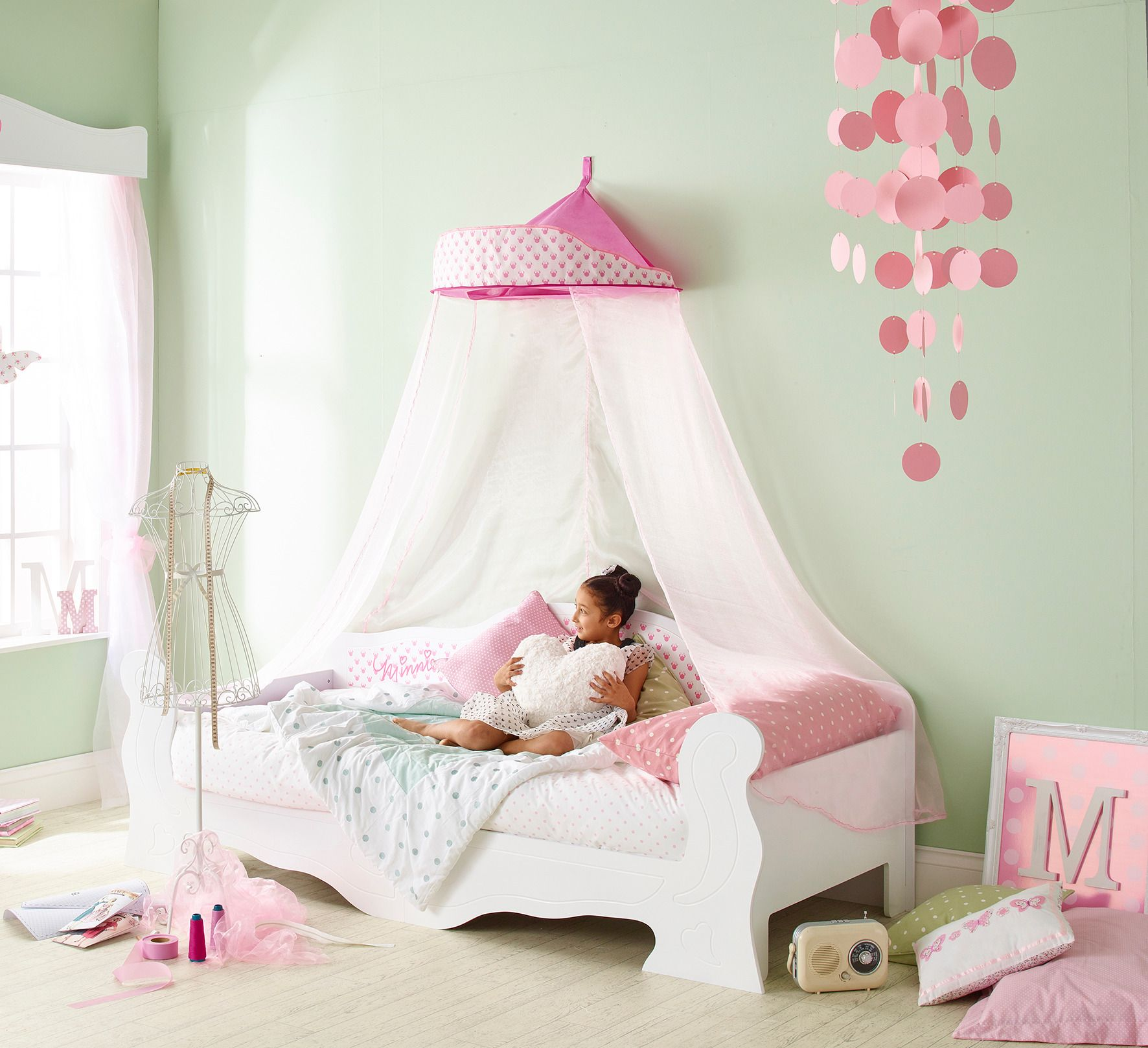 Cama infantil minnie mouse 90 x 190 cm un modelo de cama - Dormitorio infantil original ...