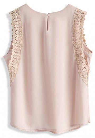 723959e6c076f Pin de Doris Alvarez en blusas de moda