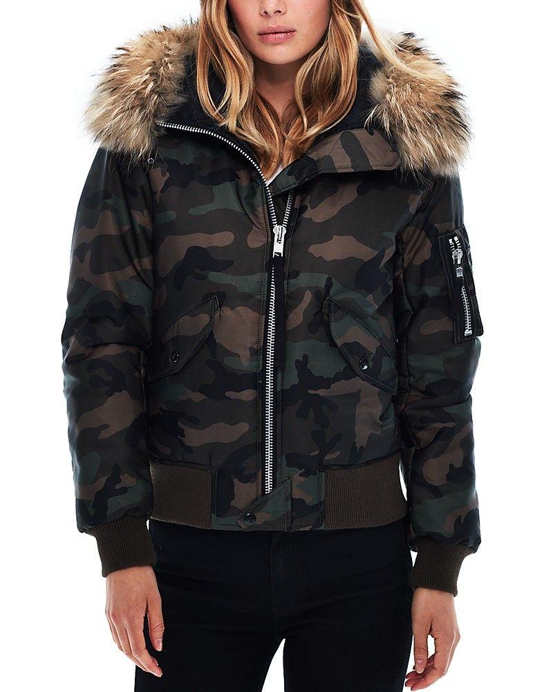 Pdpimgshortdescription Fur Hood Jacket Bomber Jacket Women Camo Bomber Jacket [ 1000 x 800 Pixel ]