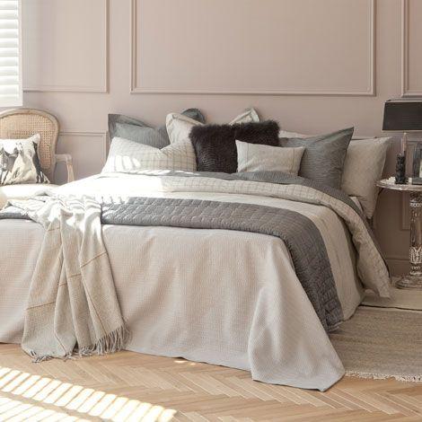 couvre lit relief g om trique zara home france id es. Black Bedroom Furniture Sets. Home Design Ideas