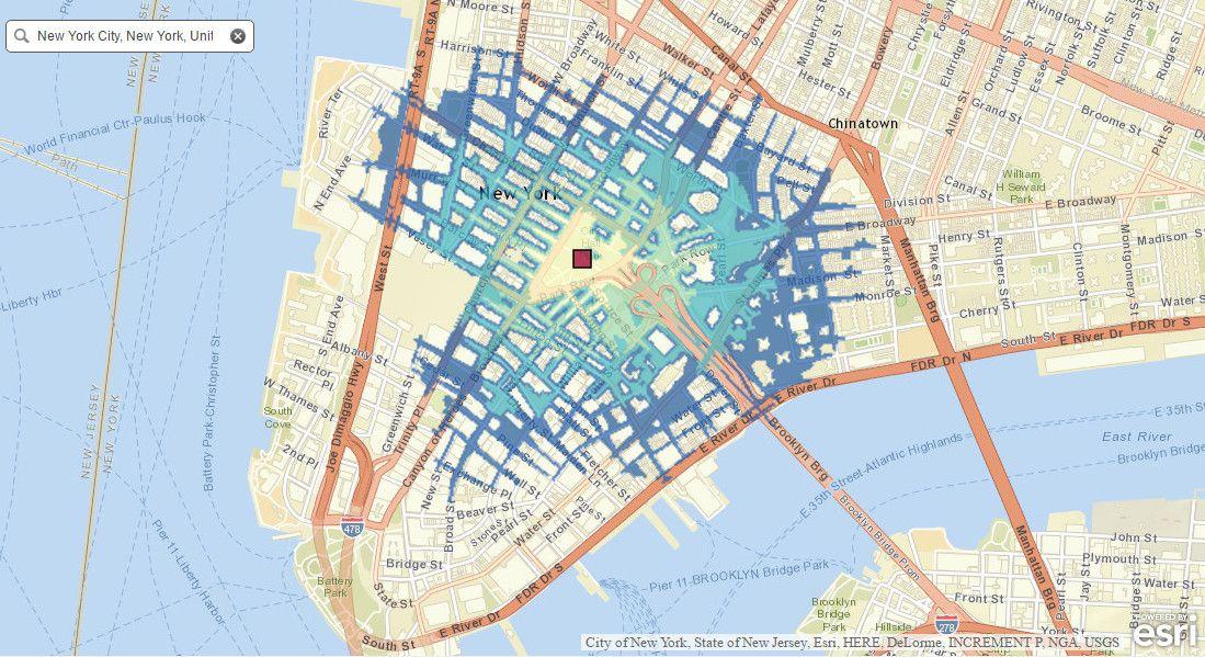 Pedestrian time analysis