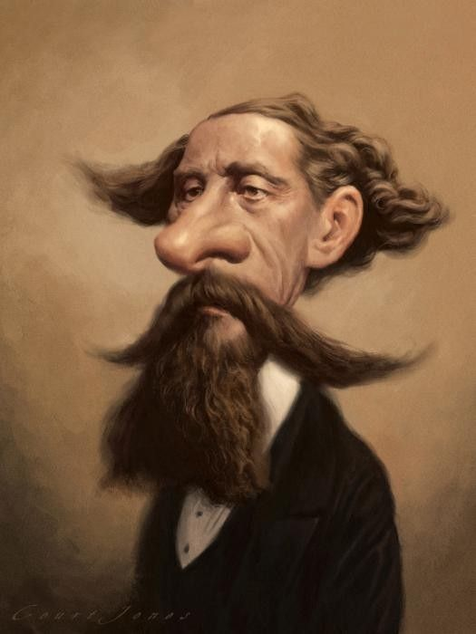 CARICATURES-CHARLES DICKENS