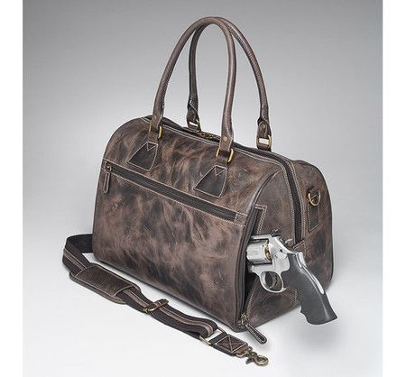 ae90d2cbd876 This vintage tanned, full-grain distressed Buffalo leather concealed ...