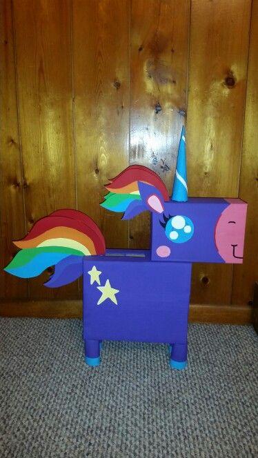 Unicorn Valentine Box! | Gracie's Board - Valentijn doos