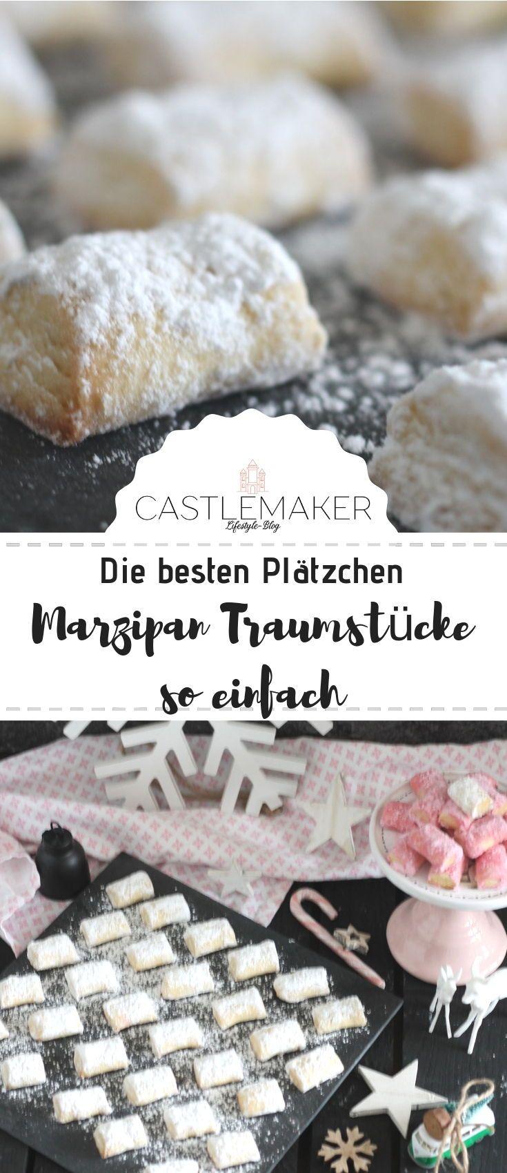 Traumstücke mit Marzipan / Marzipankissen / Plätzchenrezept « CASTLEMAKER Lifestyle Blog