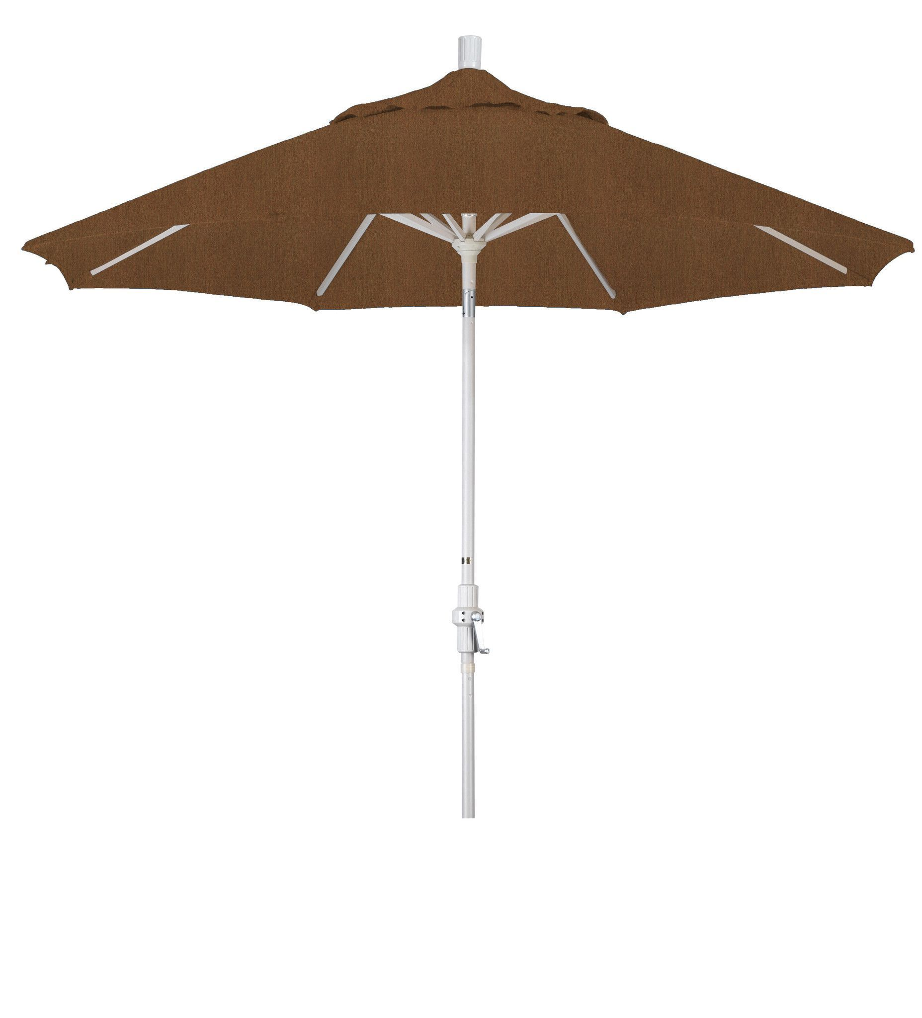 Eclipse Collection 9 Aluminum Market Umbrella Collar Tilt Sand