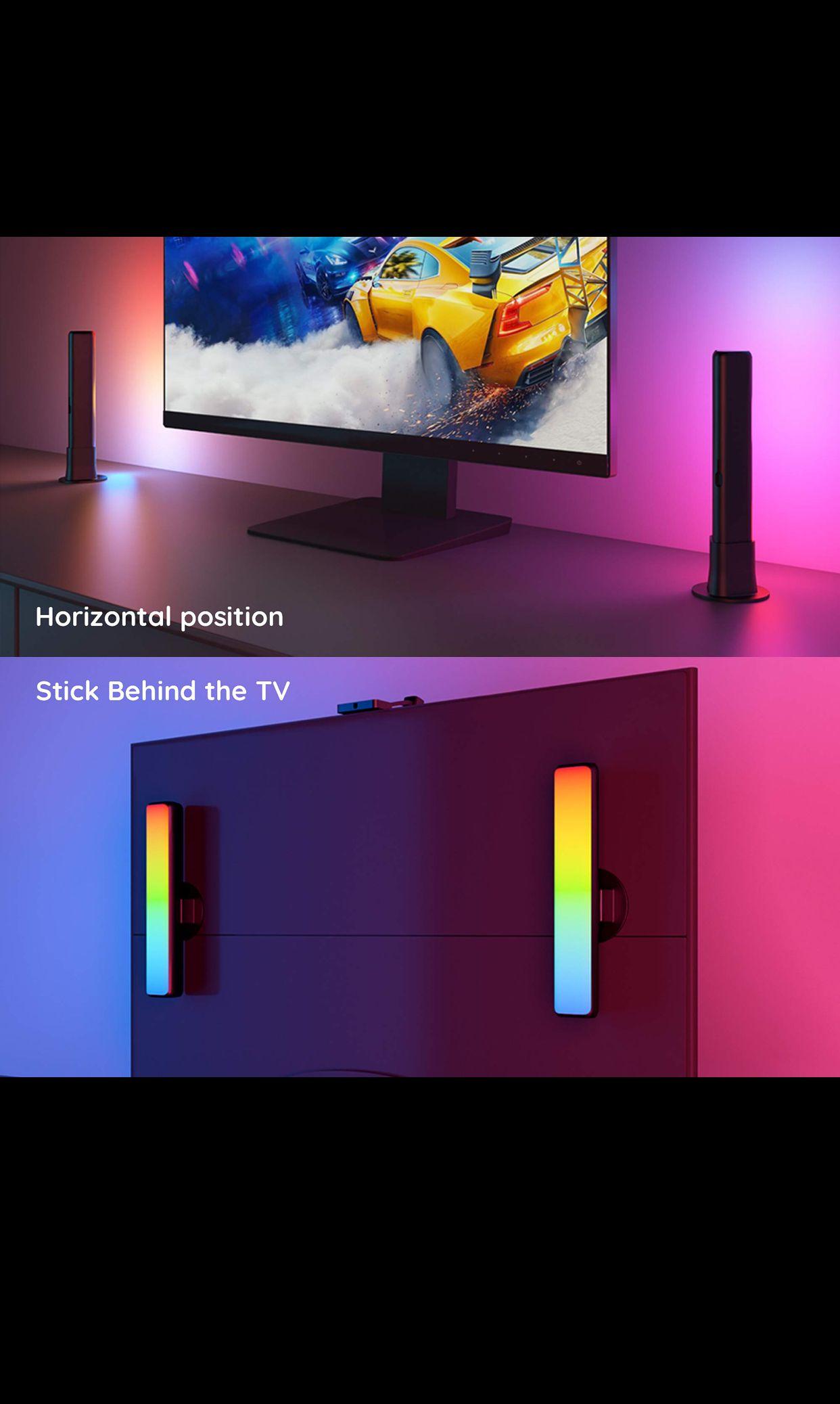 Govee Led Bar Lights In 2021 Bar Lighting Led Light Bars Tv Connect