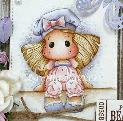 Het kaartenhoekje van Gretha: All About Magnolia # 14