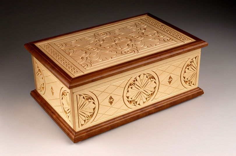 Chip carved jewelry box products i love in
