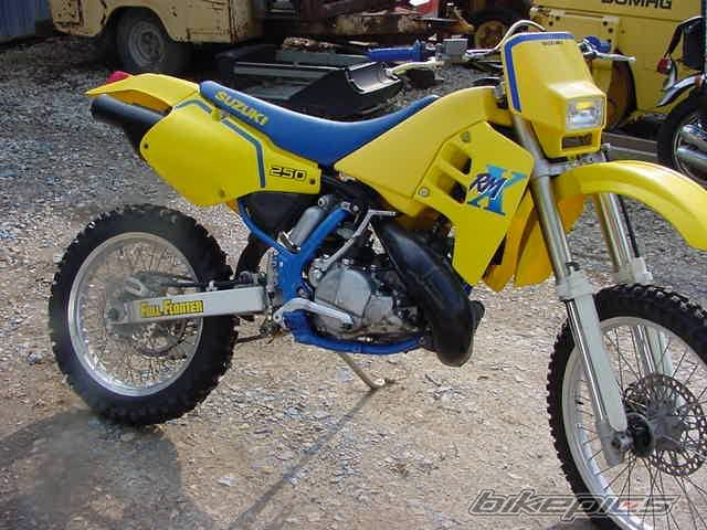 1989 Suzuki Rmx250