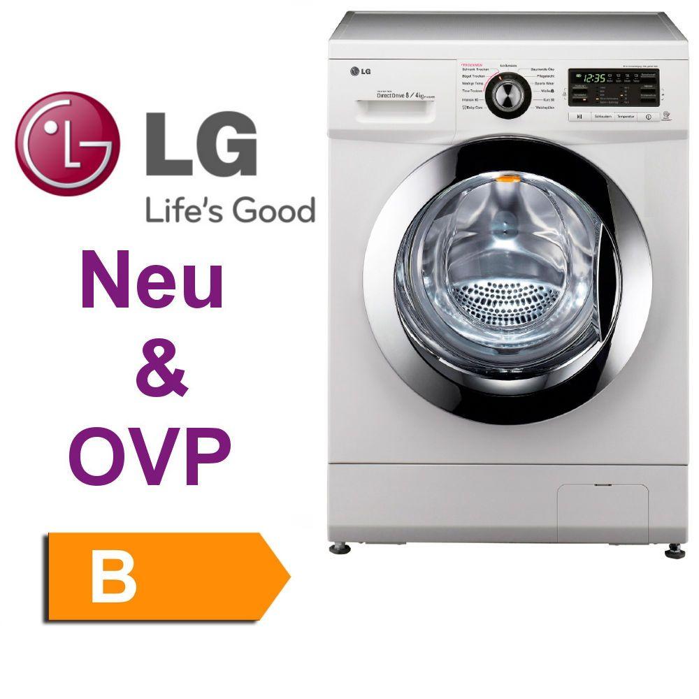 LG F1496AD3, Waschtrockner, EEK B, 8 kg Waschen/ 4 kg