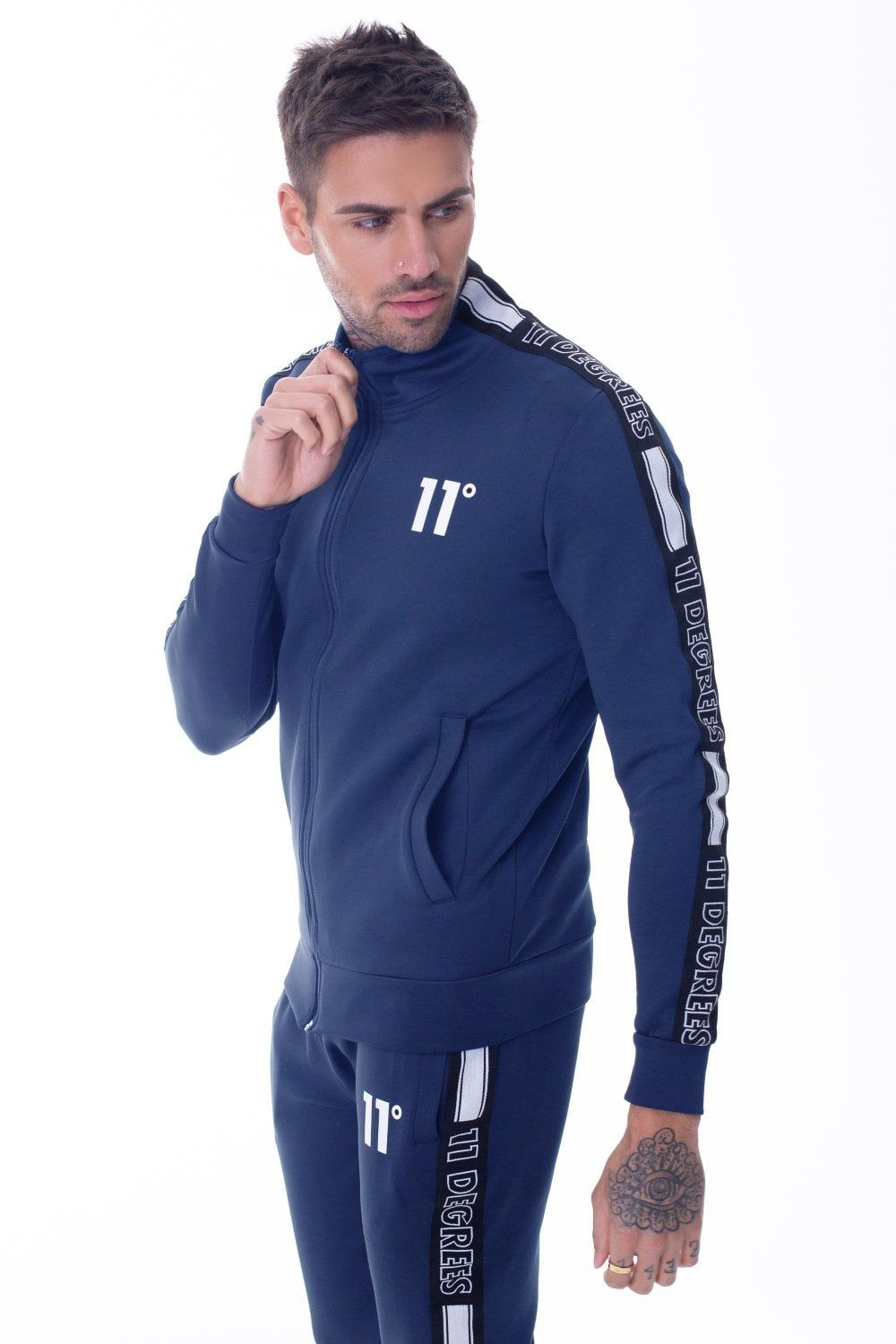11 Degrees Optum Poly Joggers Insignia.