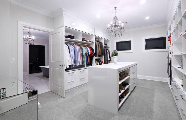 Home Design Ideeen : Ideen für begehbare kleiderschränke homeedesign homedesign