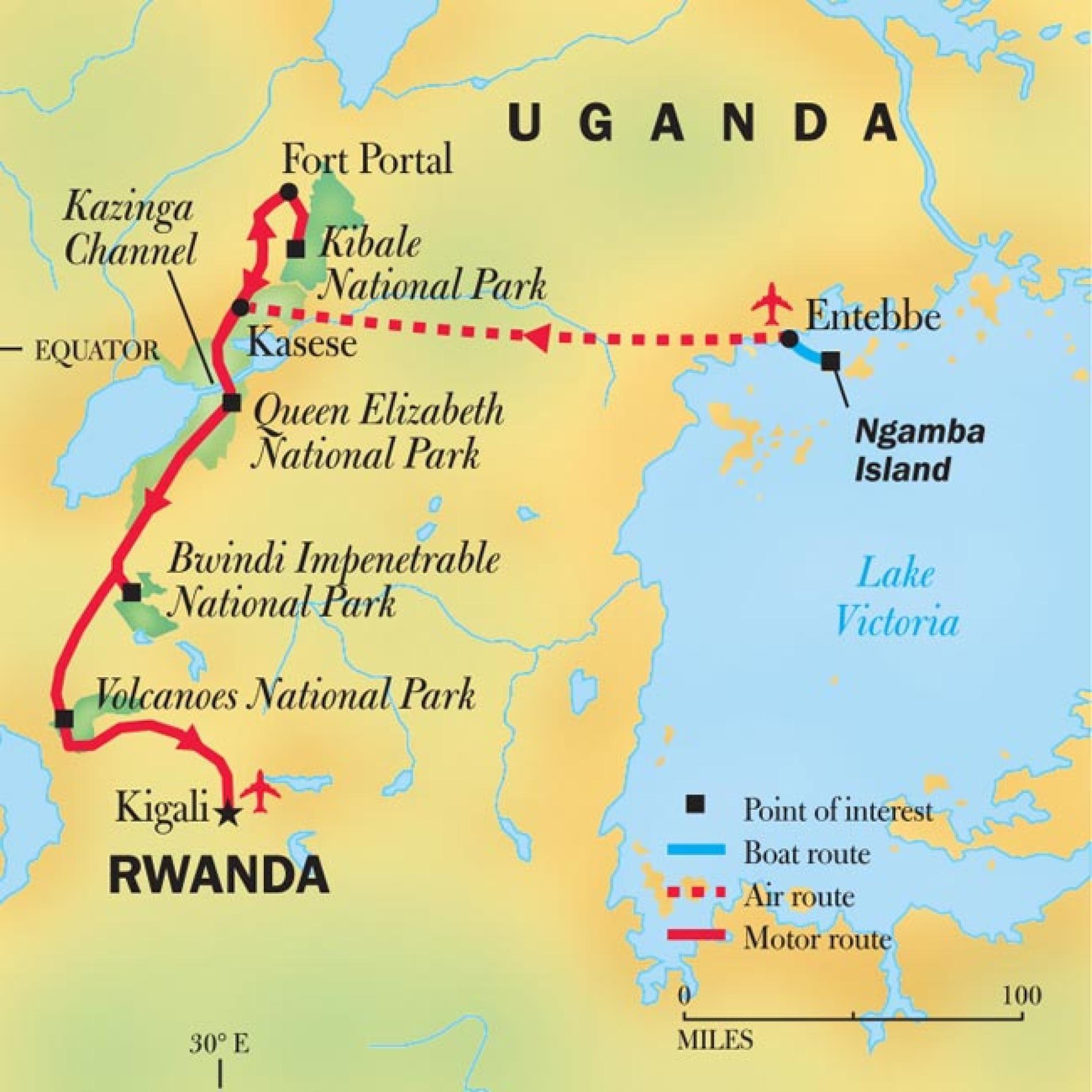 Rwanda Uganda Mountain Gorilla Safari Uganda Gorilla Trekking