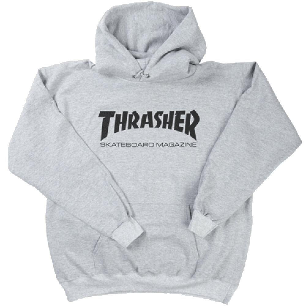 Thrasher Hoody Skate Mag Heather Grey  c8fe75b9d5