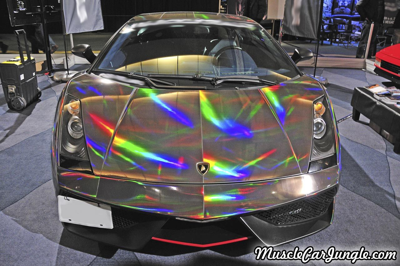 Iridescent Gallardo Front Picture (1280 By 850 Pixels) From The  Musclecarjungle.com Gallery