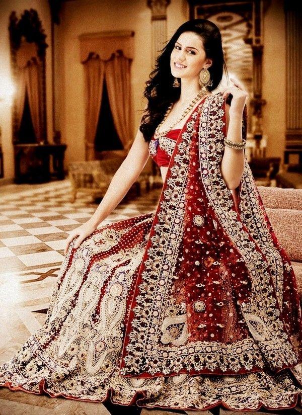 latest bridal sharara designs for wedding