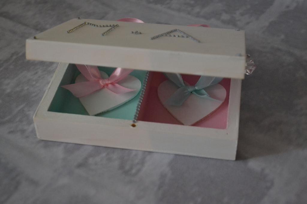 Pudełko Na Obrączki Skrzyneczka Na Obrączki ślub 5218552065