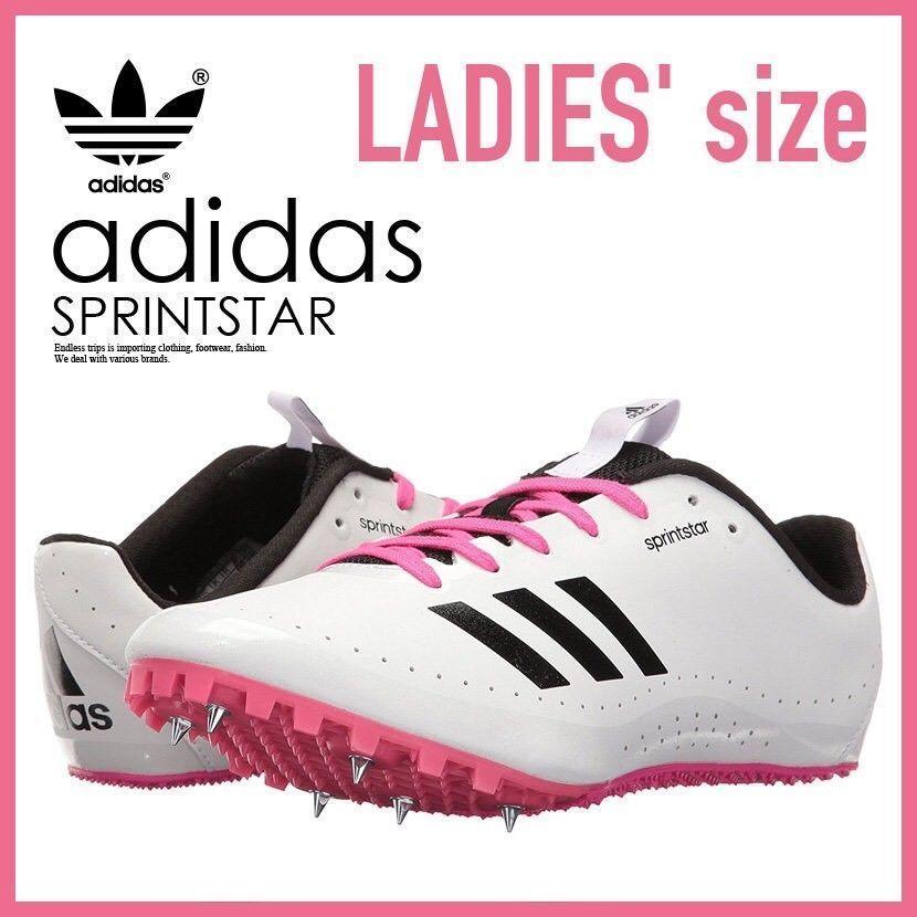 NEW Women's Adidas Sprintstar W Spikes Running Shoes BB5751