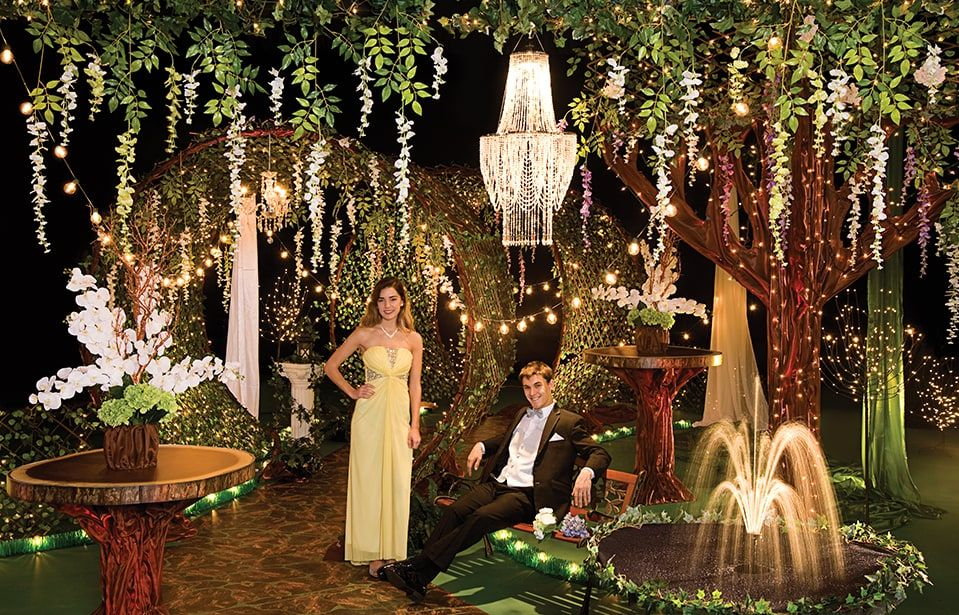 Garden Of Glamour Complete Prom Theme Nite Jr Sr