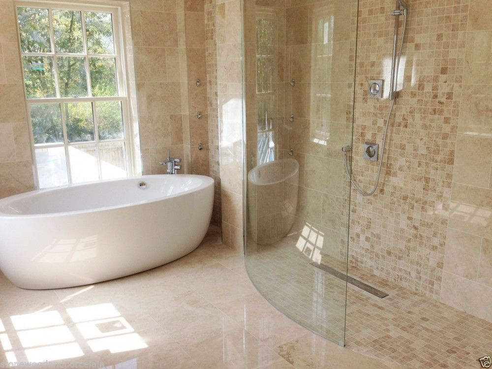 Polished Light Cappuccino Marble Tiles, 610x610mm