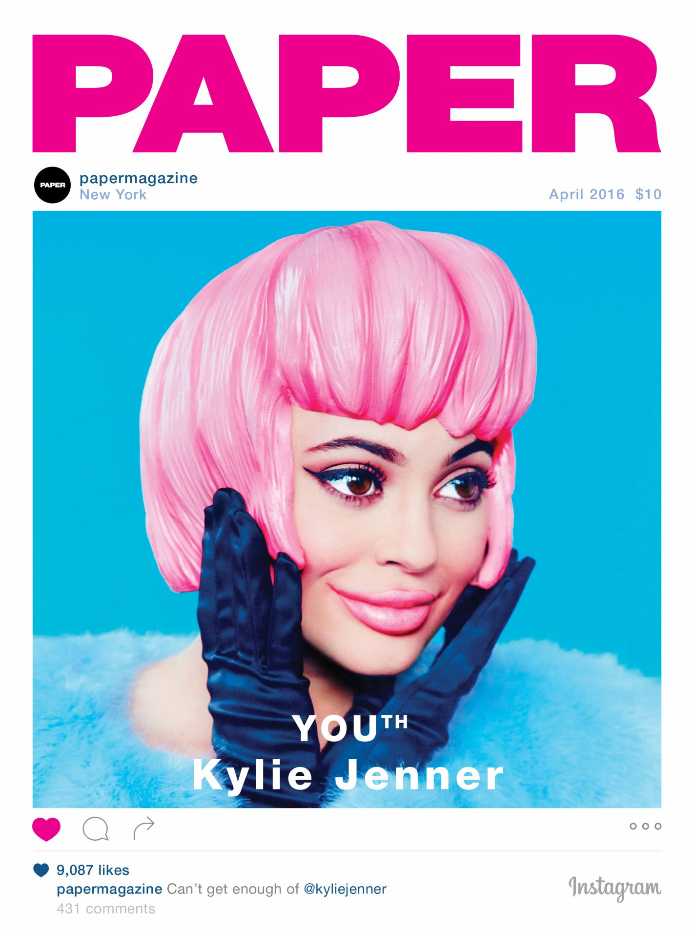 Kylie Jenner Is Paper' Magazine's Latest (Terrifying) Cover Girl Will Probably Break the InternetAnyway