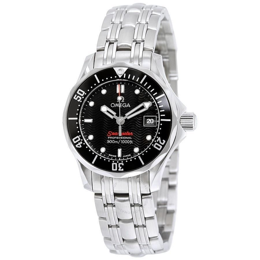 Omega Women S 212 30 28 61 01 001 Seamaster Stainless Steel Watch Products Omega Ladies Stainless Steel Watch Omega James Bond