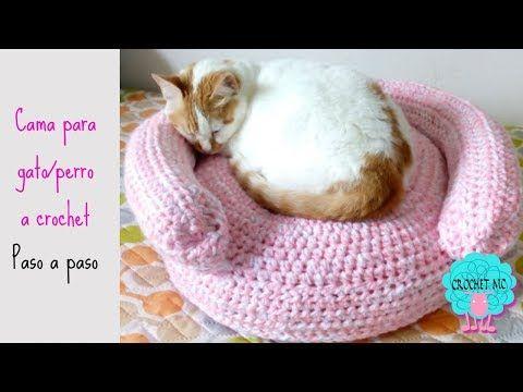 Amigurumi Gato Paso A Paso : 31 tutorial cama para gato perro a crochet youtube botín