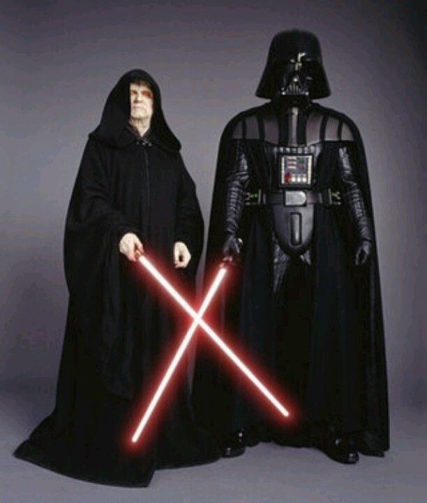 Emperor Palpatine And Darth Vader From Star Wars Revenge Of The Sith