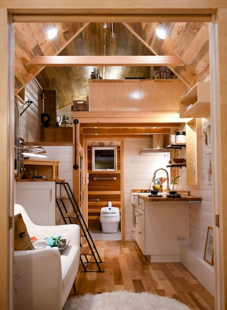 Tiny Home Designs: 12 Genius Loft Stair For Tiny House Ideas