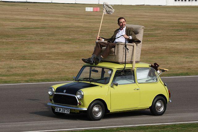Mr Bean Car Mini Morris Tv Cars Mr Bean