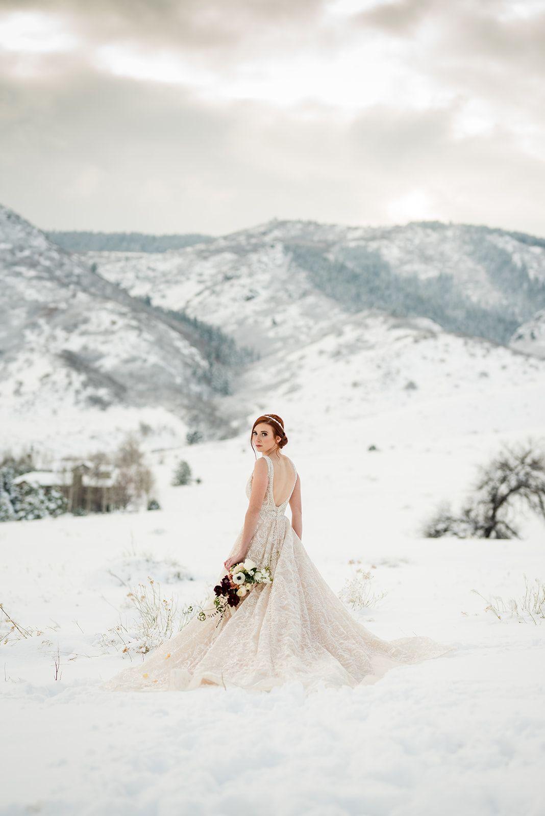 The Manor House Wedding, Colorado Winter Wedding