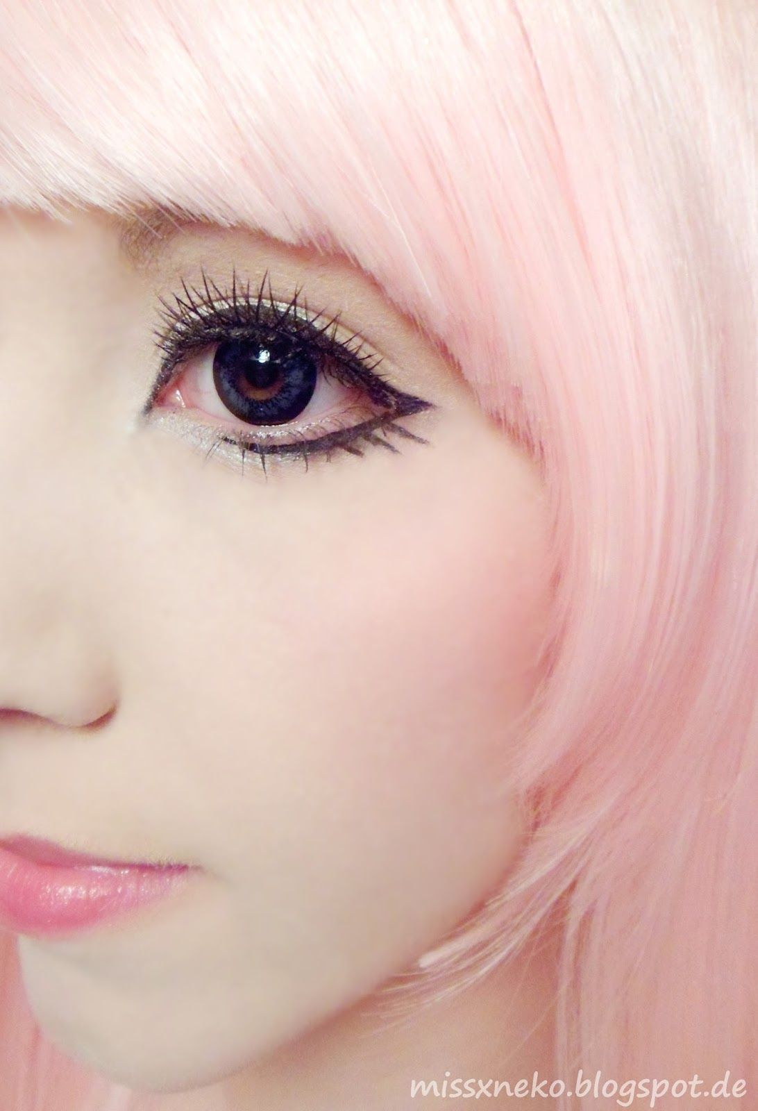 Pastel Goth Makeup Make Up Hair Nails Anime Eye Makeup
