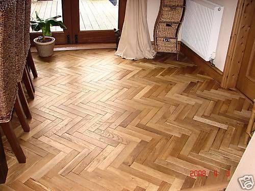 Solid Oak Parquet Wood Flooring Not Reclaimed Saving Huge Labour - Parkour flooring