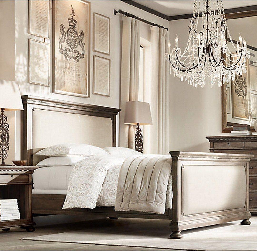 Classy And Elegant Restoration Hardware Bedroom Design (14