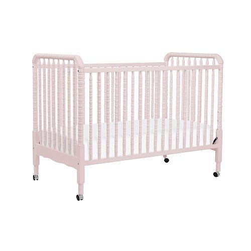 Davinci Jenny Lind 3 In 1 Stationary Crib Blush Pink