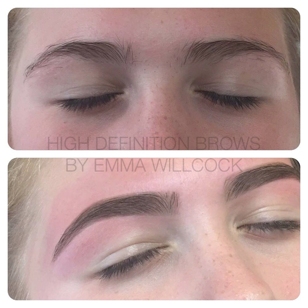 High Definition Brows Formerly Hd Brows Before After By Elite
