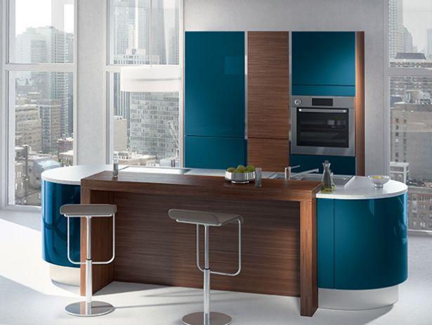 mod les de cuisines maison pinterest plan de travail stratifi schiste et bleu canard. Black Bedroom Furniture Sets. Home Design Ideas