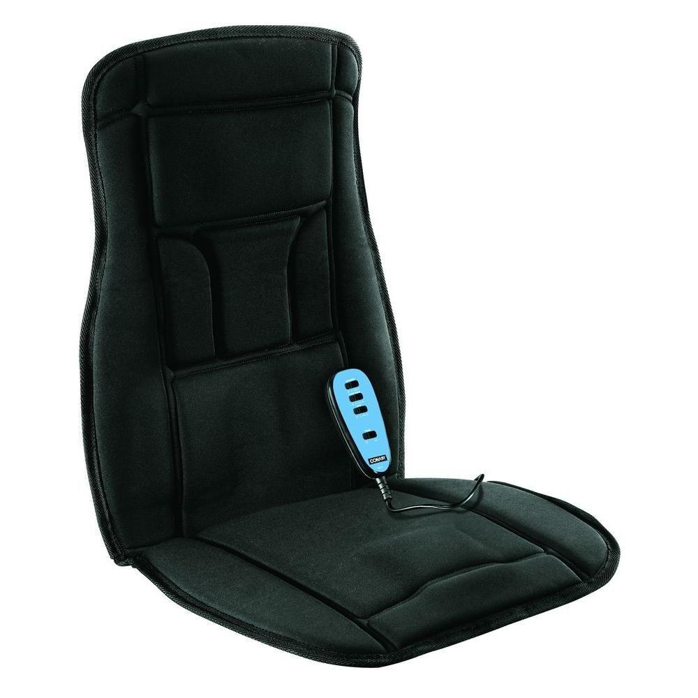 Conair Heated 3 Speed Massage Seat Cushion Bm1rl Chair Pads