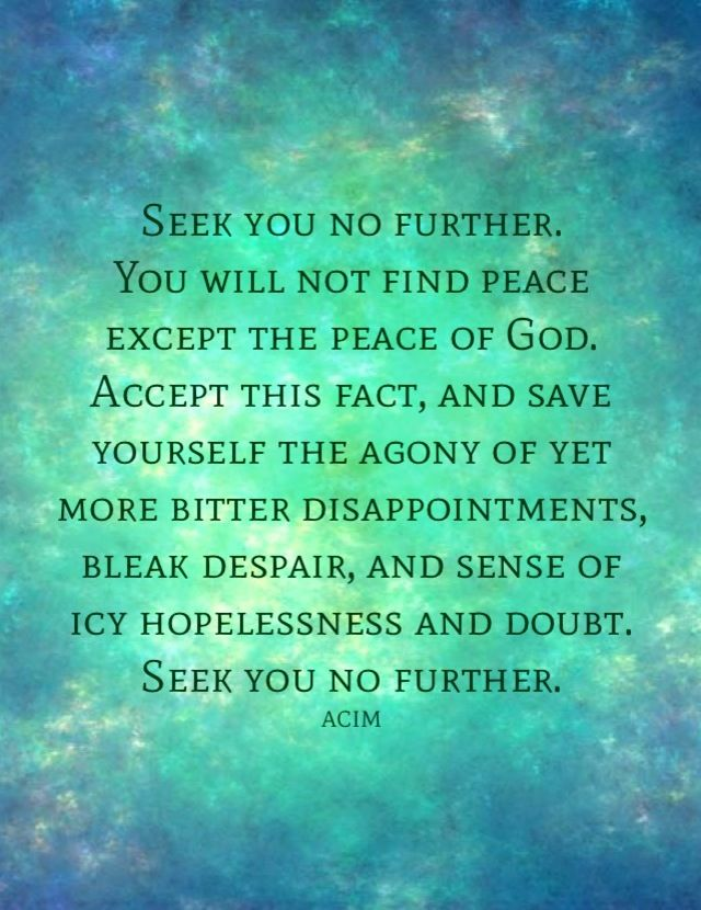 A Course In Miracles Course In Miracles Miracle Quotes