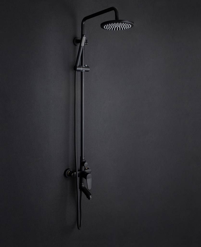 Tinago Rain Shower System With Handheld Seperate Shower Head