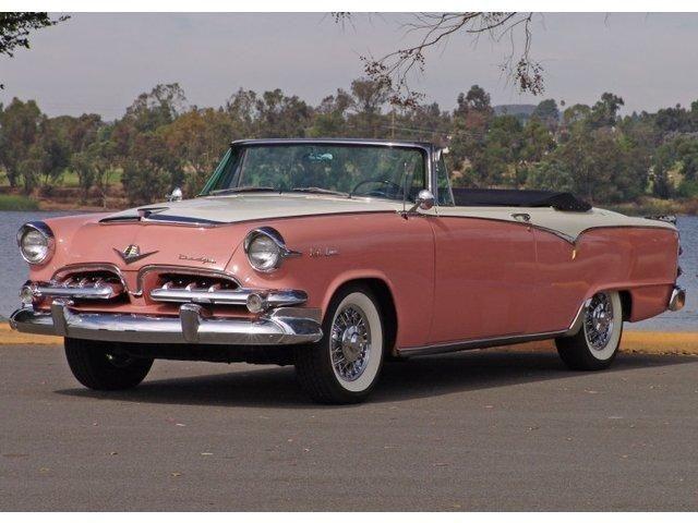 1955 Dodge Custom Royal Lancer    in PEPTO BISMOL PINK!!! To DIE for